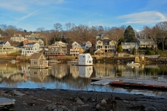 Annisquam Harbor - Low Tide in Winter