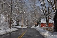 Walnut Street in the Snow