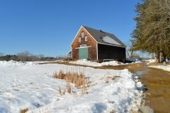 Jimmy's Barn in Winter