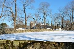 Milking Barn in Winter