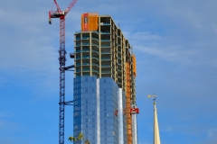 Millennium Tower Under Construction