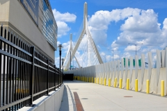 Zakim Bridge in Sunlight