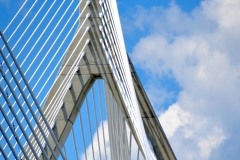 Zakim Bridge Close-Up