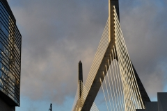 Zakim Bridge in the Late Afternoon