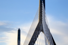 Zakim Bridge Under Blue Skies