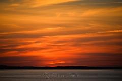 Ipswich Bay Sunset Horizon