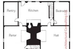 Sample Floor Plan - Georgian