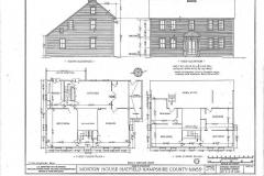 Sample Floor Plan - Saltbox