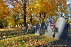 Old Graveyard in Autumn 1