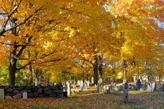 Old Graveyard in Autumn 3