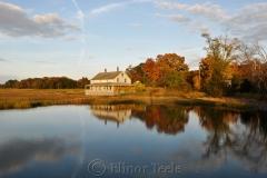 Mabel Burnham House in October