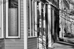 Black & White Buildings