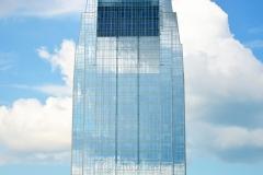 Skyscraper & Clouds