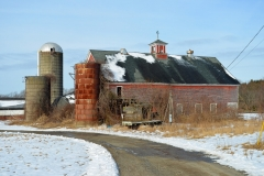 Sunshine Dairy Farm in Melting Snows