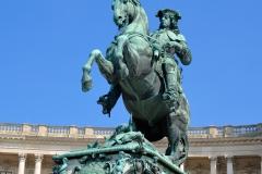 Prince Eugene Savoy Statue