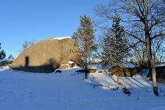 Squam Rock - Winter Shadows