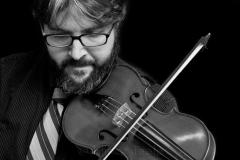 Violinist Black & White 2