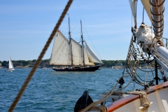 Bluenose Off the Bow