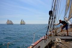 On Board the Liberty Clipper