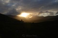Black Valley Sunset