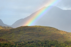 Gap of Dunloe Rainbow Close-Up