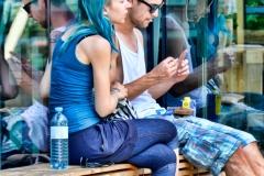 Cigarette Break in Graz