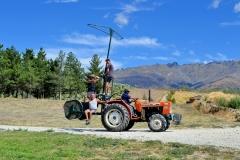 Tractor in Central Otago