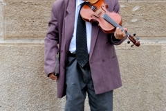 Violinist in Budapest