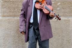 Violinist in Budapest