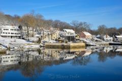 Cove in February Snows