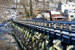 Footbridge Reflections 1