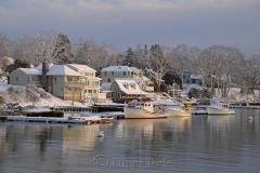 Harbor in February