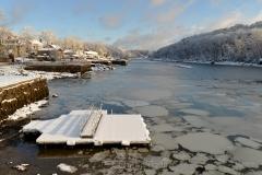 Cove in March Snows