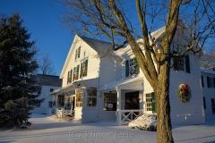 Village Hall on a Snowy Morning 2