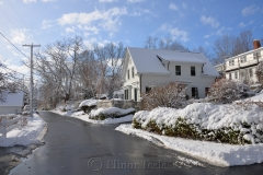 River Road in January Snows