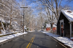 Walnut Street in January Snows