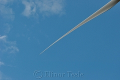 Wind Turbine Close-Up