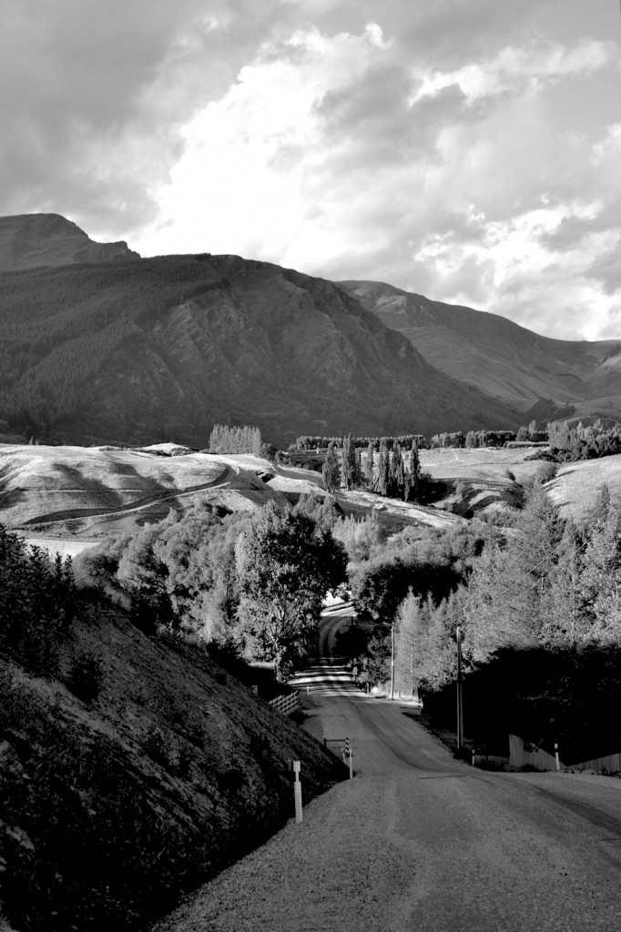 Road, Central Otago, New Zealand