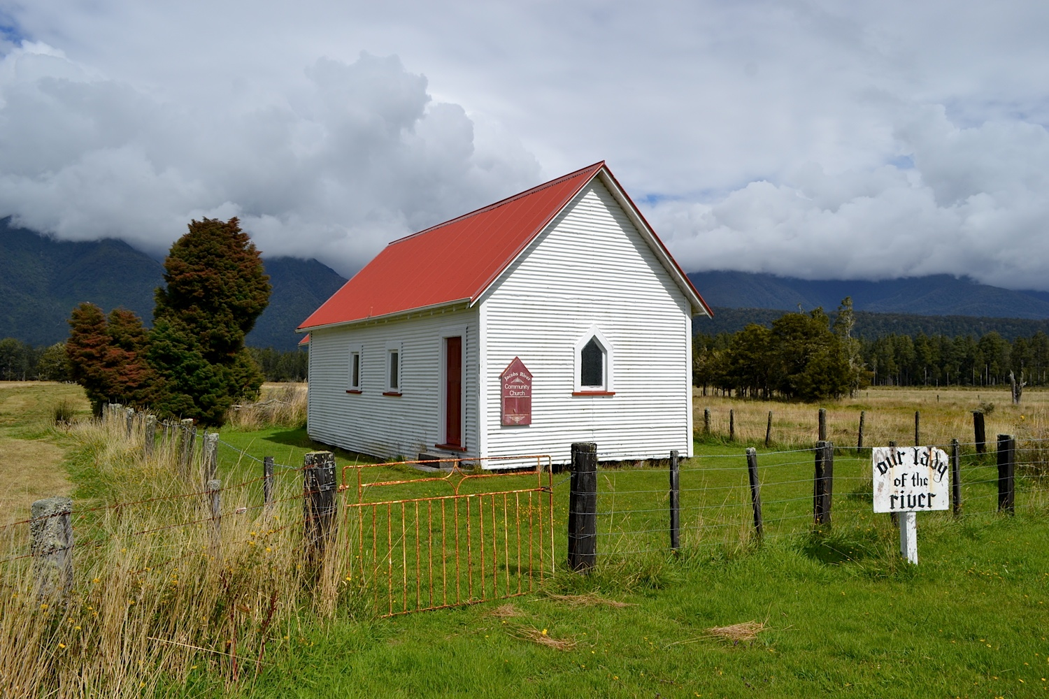 Our Lady of the River, Jacobs River, West Coast, New Zealand