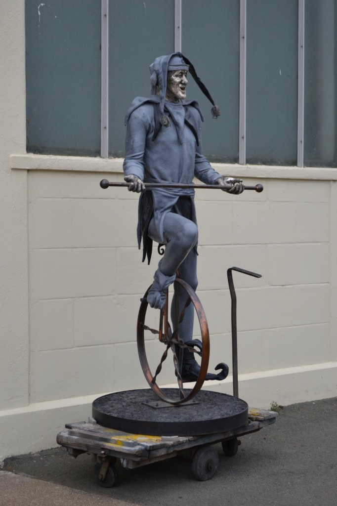 Donald Patterson Sculpture, Oamaru, New Zealand