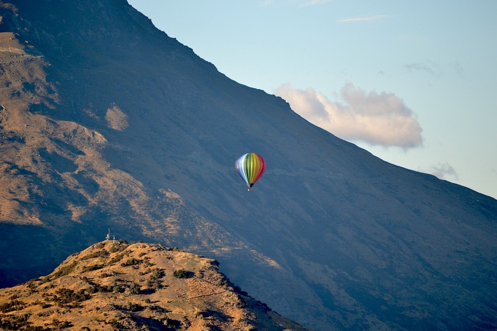 Hot Air Balloon, Queenstown, New Zealand