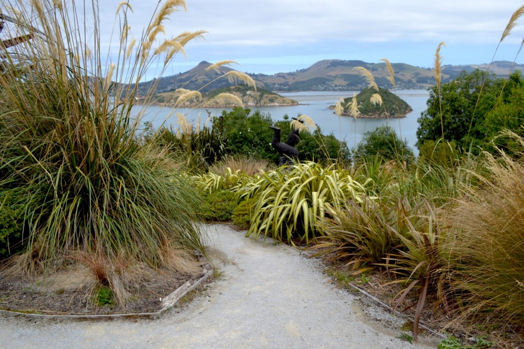 Ralph Hotere Sculpture Garden, Port Chalmers, New Zealand