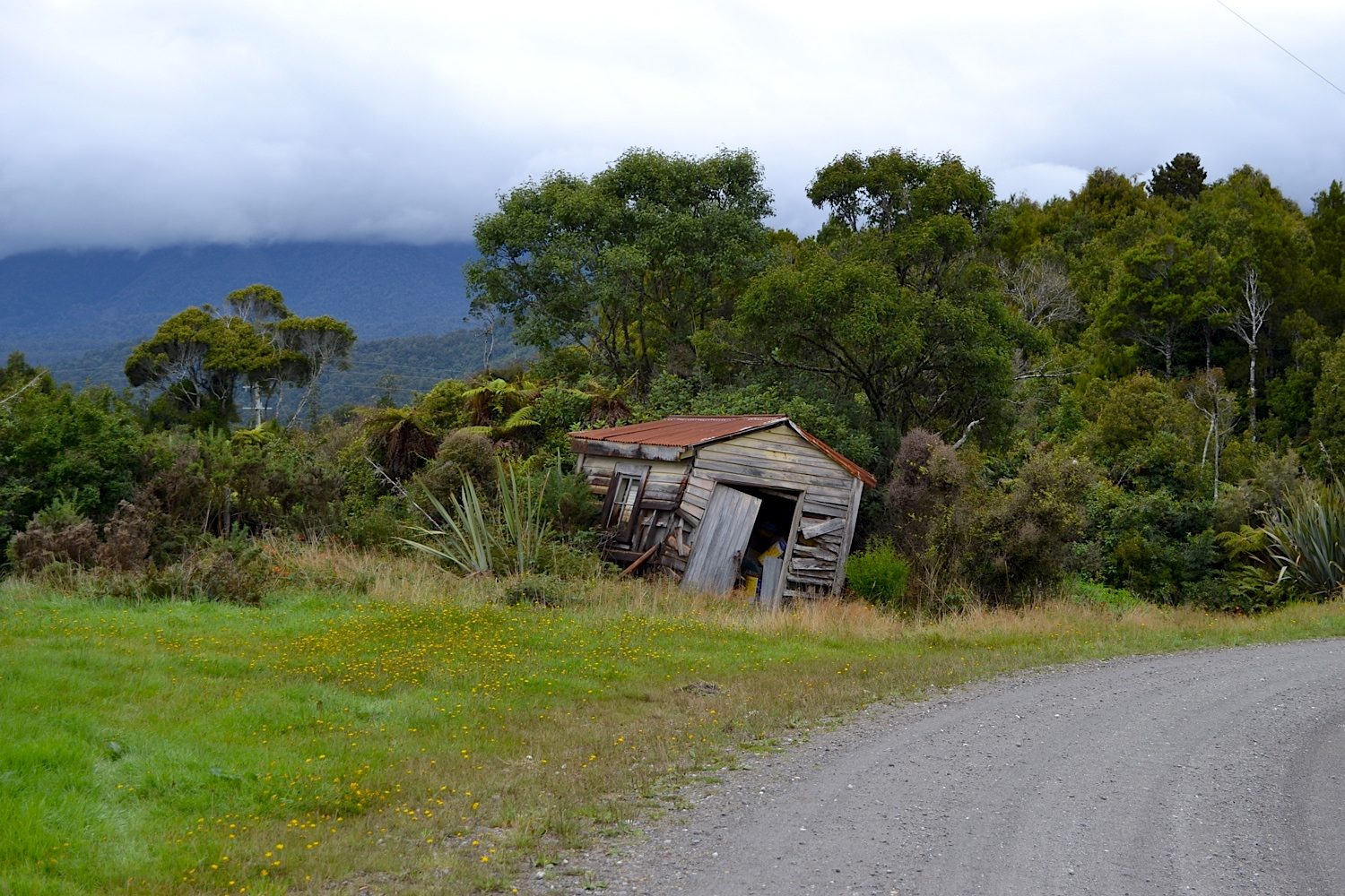 Lean-To, West Coast, New Zealand