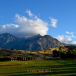 Remarkables and Farmland, Central Otago