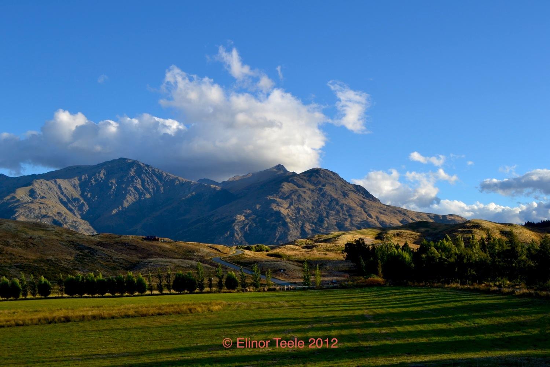 Remarkables and Farmland, Central Otago