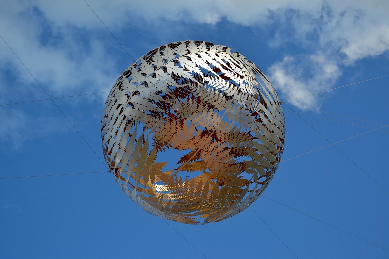 Ferns, Civic Square Sculpture, Wellington