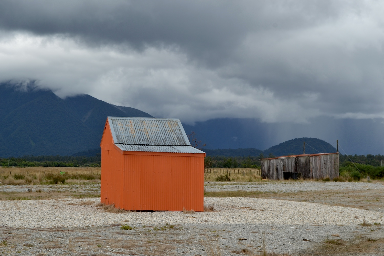 Sheds, West Coast, New Zealand