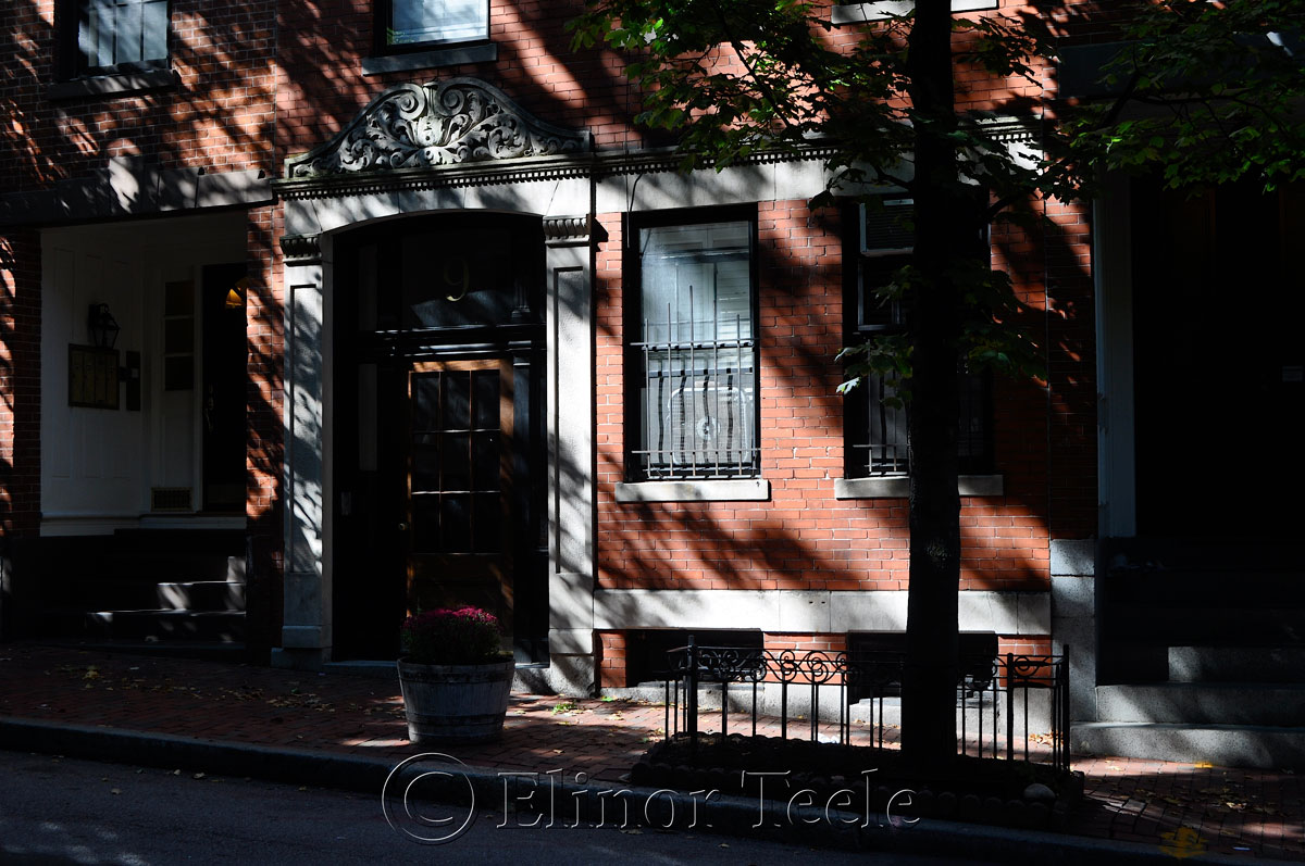 Street, Beacon Hill, Boston MA