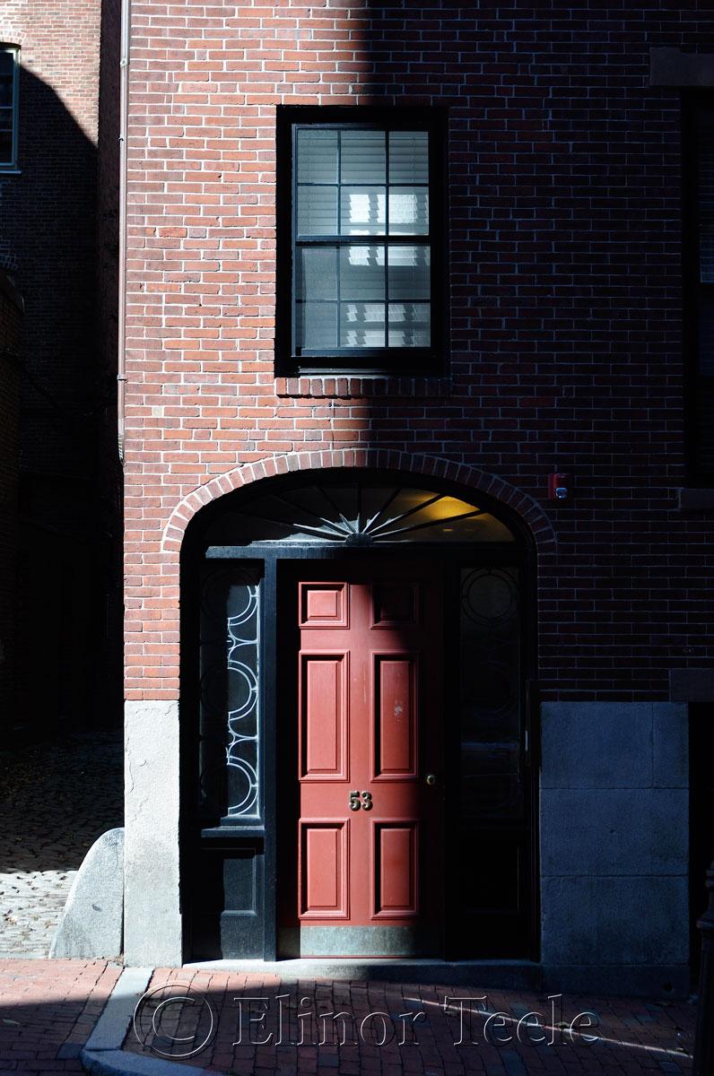 Doorway, Beacon Hill, Boston MA