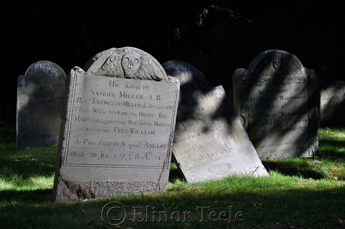 Kings Chapel Burial Ground, Boston MA